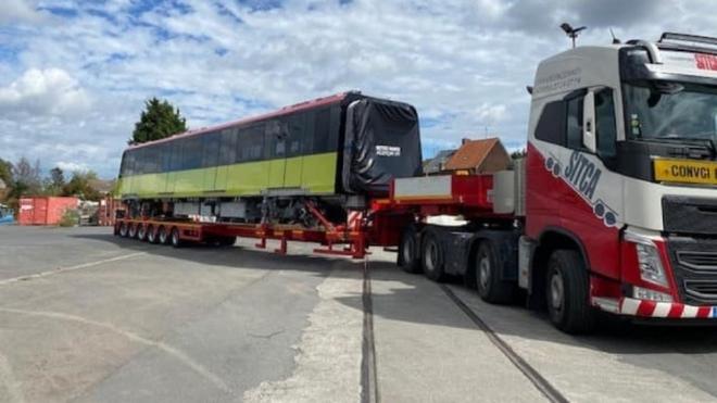 Ngày 24/10, đoàn tàu metro Nhổn - Ga Hà Nội từ Pháp về đến Việt Nam - Ảnh 1.