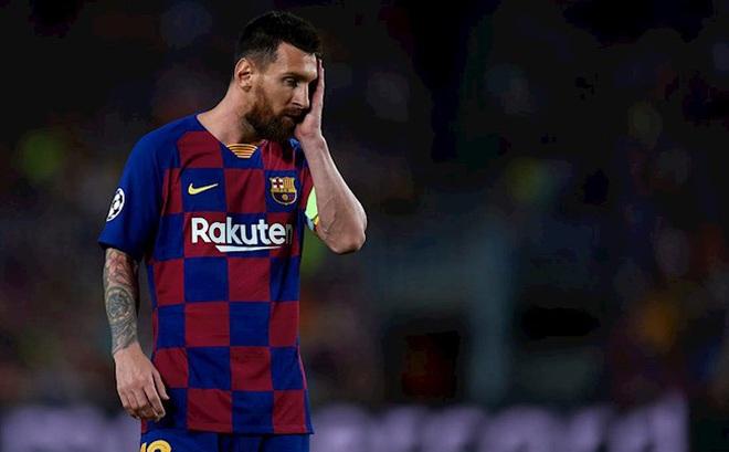 Nhìn thấy nguy cơ thất bại, Messi buộc phải cân nhắc khả năng