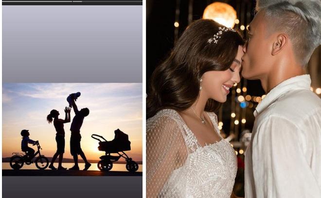 Bùi Tiến Dũng mường tượng cảnh gia đình hạnh phúc sau khi bạn gái đăng ảnh được chàng hôn trán: Muốn ẩn ý về hôn nhân sao?