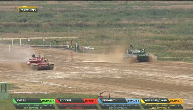 Chung kết Tank Biathlon 2020: Trung Quốc bất ngờ vượt lên trên Nga - Quyết đấu nảy lửa, chức vô địch về tay ai? - Ảnh 3.