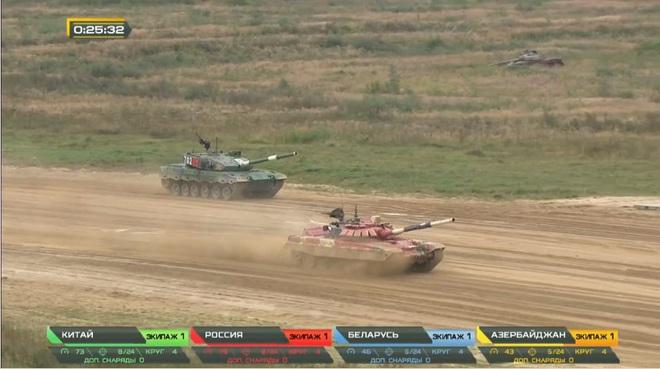 Chung kết Tank Biathlon 2020: Trung Quốc bất ngờ vượt lên trên Nga - Quyết đấu nảy lửa, chức vô địch về tay ai? - Ảnh 4.