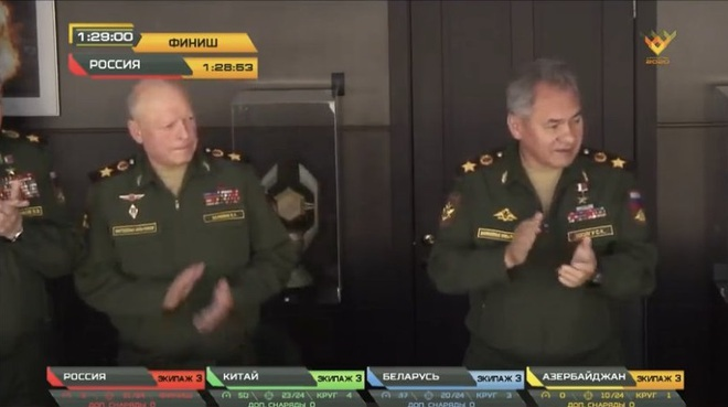 Chung kết Tank Biathlon 2020: Trung Quốc suýt giật sập ngai vàng của Nga - Một kỳ tích, chủ nhà quá may mắn - Ảnh 1.