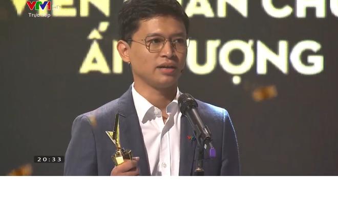 Biên tập viên VTV gây sốt với màn phát biểu khi nhận giải thưởng - Ảnh 3.