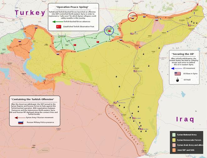 Tăng - thiết giáp Thổ cơ động bất thường, chuẩn bị đánh lớn ở Syria: Mỹ, Nga sẽ để yên? - Ảnh 1.