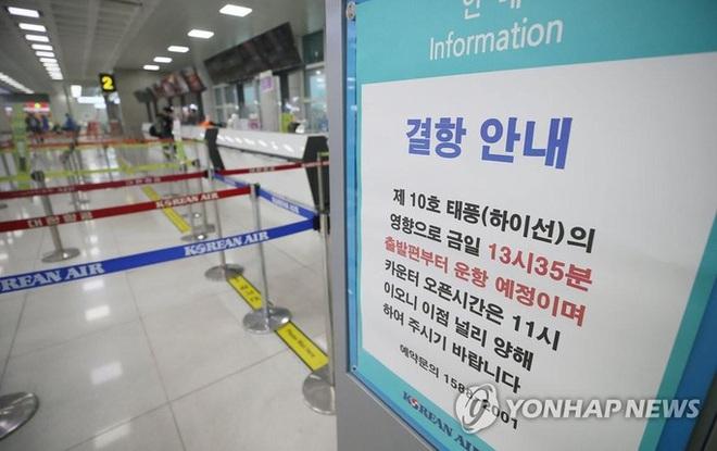 """""""Hải thần"""" Haishen lướt tới Hàn Quốc, Triều Tiên """"nín thở"""" - Ảnh 5."""
