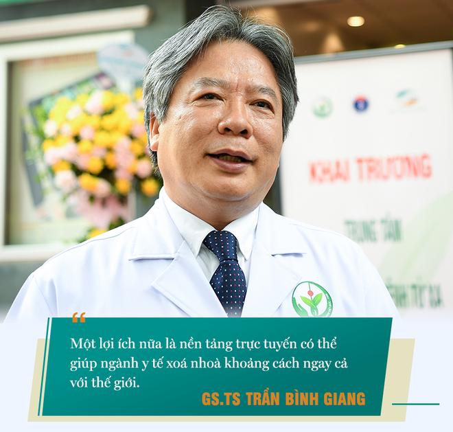 Giám đốc BV Hữu nghị Việt Đức: Telehealth cung cấp một platform để tạo ra thế giới phẳng trong y tế - Ảnh 6.