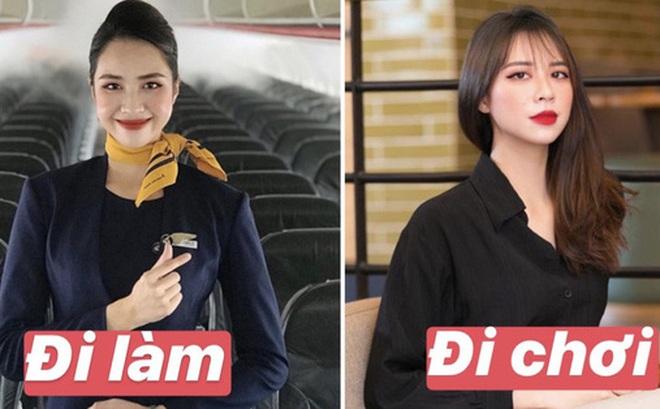 Chấm điểm dàn mỹ nữ tiếp viên hàng không khi đi làm và lúc lên đồ đi chơi