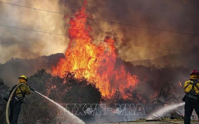 Cháy rừng nghiêm trọng do bắn pháo hoa tại California