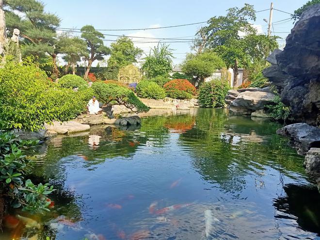 Biệt thự vườn 2.000 m2, có hồ cá Koi của đại gia Nam Định được rao bán với giá không tưởng - Ảnh 3.