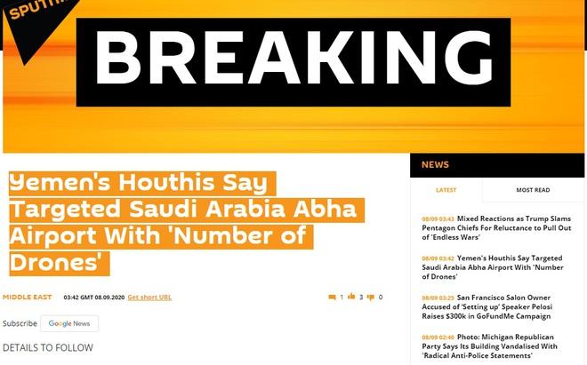 NÓNG: Hệ thống Patriot tối tân chết lặng, UAV Houthi ập vào tấn công ồ ạt Saudi Arabia - Ảnh 1.