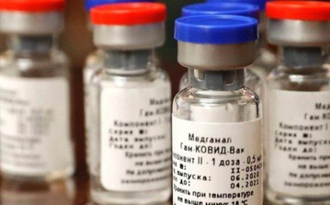Nga chính thức lưu hành lô vaccine ngừa Covid-19 Sputnik V đầu tiên