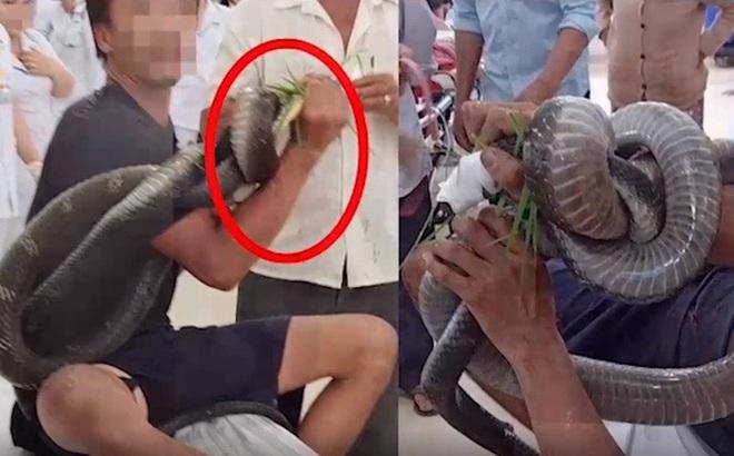 Người đàn ông bị rắn hổ mang chúa núi Bà Đen cắn tặng lại 80 triệu cho 1 bệnh nhân nghèo