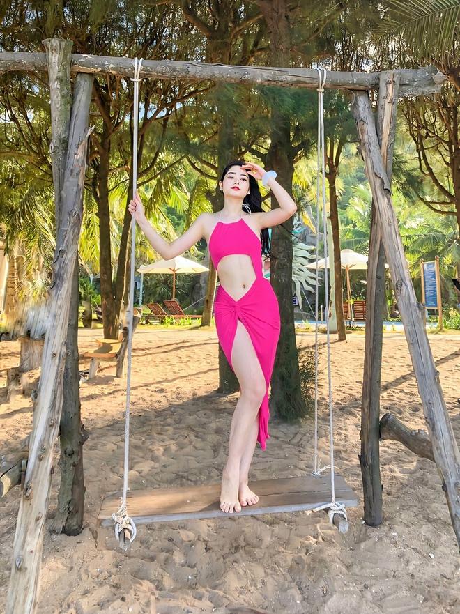 Người đẹp 19 tuổi, thích khoe ảnh sexy dự thi Hoa hậu Việt Nam 2020 - Ảnh 6.