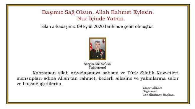 Tướng Thổ Nhĩ Kỳ bất ngờ bị chết ở Syria - Động thái quân sự mới nhất của Iran khiến Mỹ buộc phải theo sát - Ảnh 1.