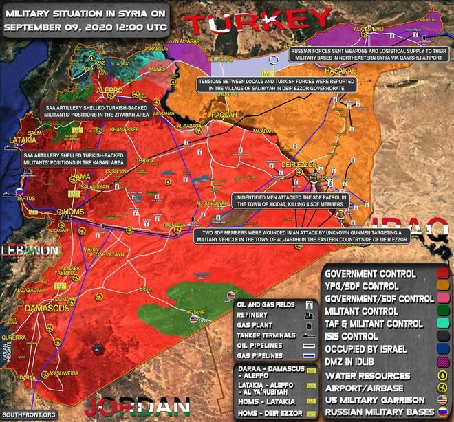 Thổ Nhĩ Kỳ thiệt hại nặng, tướng cấp cao bất ngờ chết ở Syria - Iran vừa ra tuyên bố nóng khiến Mỹ phải giám sát chặt - Ảnh 1.
