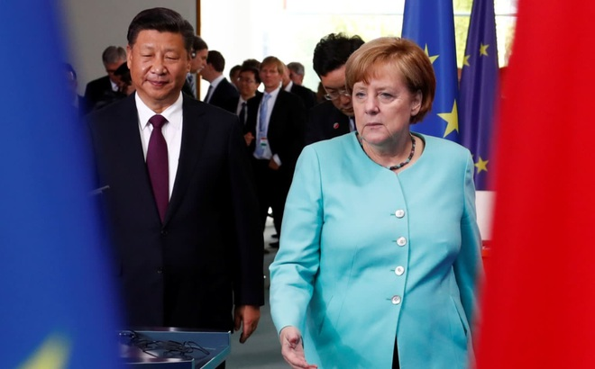"""Hết """"tuần trăng mật"""", Đức cho Trung Quốc nếm """"trái đắng"""": Các công ty Đức lo mất thị trường béo bở?"""