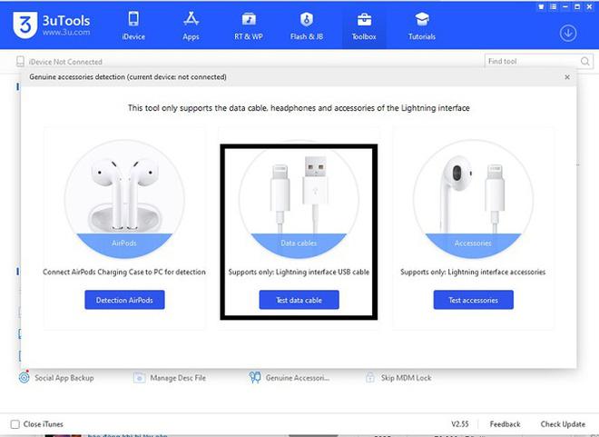 Cách kiểm tra cáp sạc iPhone, iPad chính hãng - Ảnh 4.