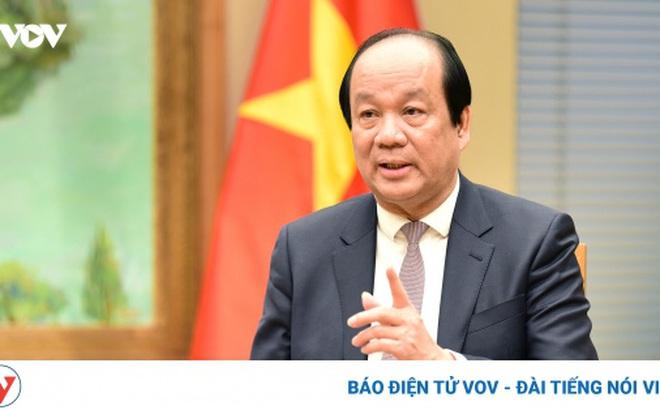 Bộ trưởng Mai Tiến Dũng: Bỏ quyền lợi cát cứ, thay đổi theo hướng Chính phủ phục vụ