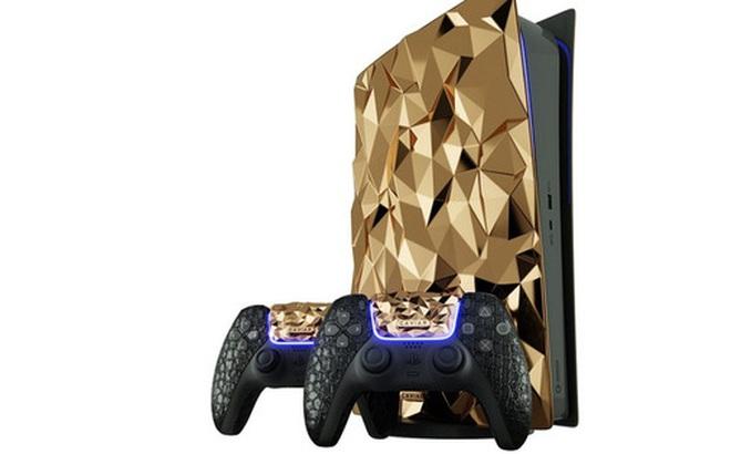 Có nhiều tiền, mua gì để giải trí dịp Tết: PS5 bản đặc biệt phủ 30kg vàng, bọc da cá sấu, giá bán 41 tỷ đồng