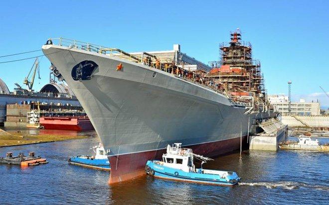 Đô đốc Nakhimov Nga mang 480 tên lửa: Xứng danh mạnh nhất thế giới? - Ảnh 1.