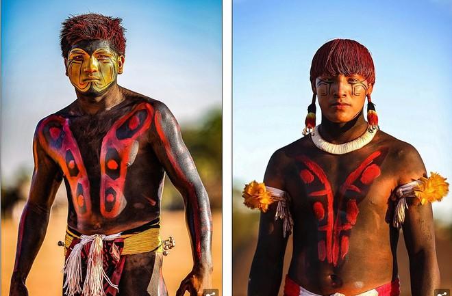 Ảnh độc đáo về các bộ lạc Vệ thần rừng Amazon - Ảnh 3.
