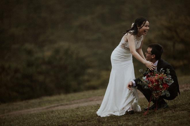 Quyền hiệu trưởng 9X đèo bạn gái đi 100km tìm thầy bói: Nghe phán xong, cả hai liền đi Đà Lạt chụp ảnh cưới - Ảnh 3.