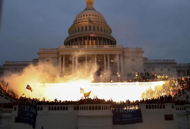 Người biểu tình dọa quay trở lại Điện Capitol cùng vũ khí: Ngày 17/1 và ngày 20/1 lọt vào tầm ngắm - Ảnh 1.