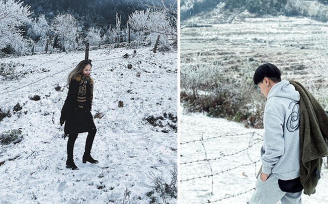 Hội trai xinh gái đẹp tung ảnh check in tuyết ở Y Tý, Sa Pa đẹp 'hú hồn', không ngờ Việt Nam mình cũng có những nơi thế này!