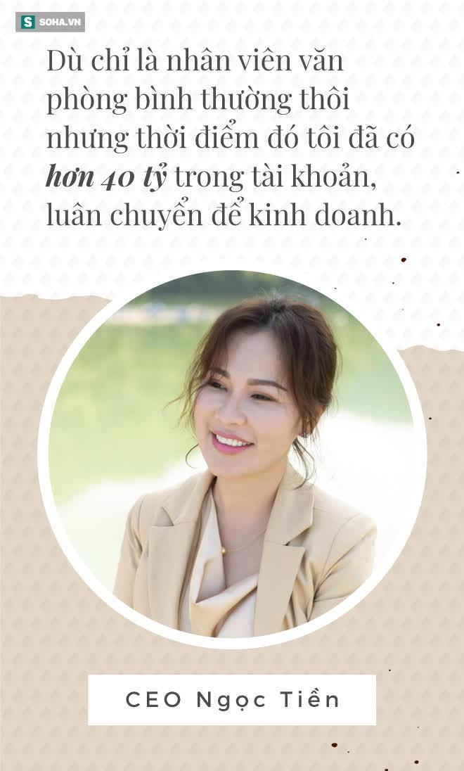 CEO Ngọc Tiền - vợ Quý Bình: Từ cô bé làm môi giới bán đất năm lớp 9 đến đại gia nghìn tỷ - Ảnh 3.