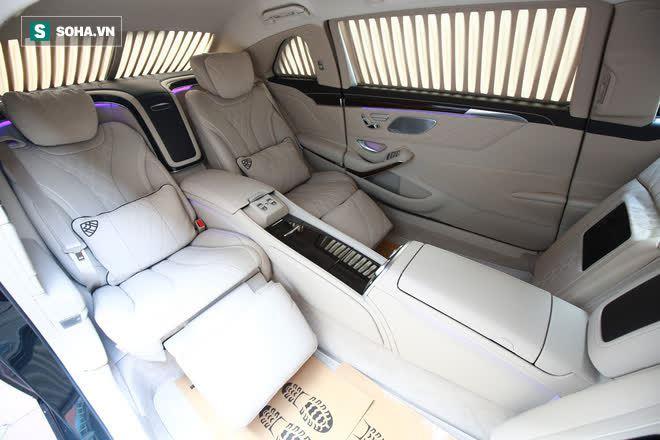 Mercedes-Maybach S650 Pullman phục vụ ông chủ người Việt đẳng cấp cỡ nào? - Ảnh 9.