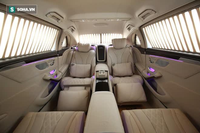 Mercedes-Maybach S650 Pullman phục vụ ông chủ người Việt đẳng cấp cỡ nào? - Ảnh 8.