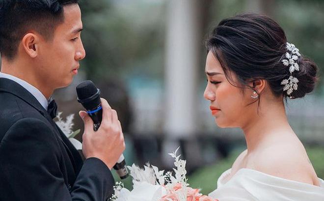 """Khánh Linh bật khóc chia sẻ về Tiến Dũng: """"Em yêu anh vì những điều giản dị"""""""