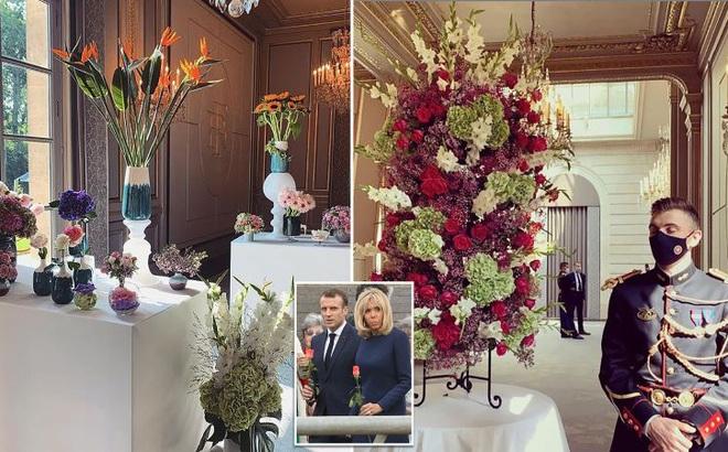 Điện Elysee bị chỉ trích vì chi 700.000 USD mua hoa trang trí trong dịch COVID-19