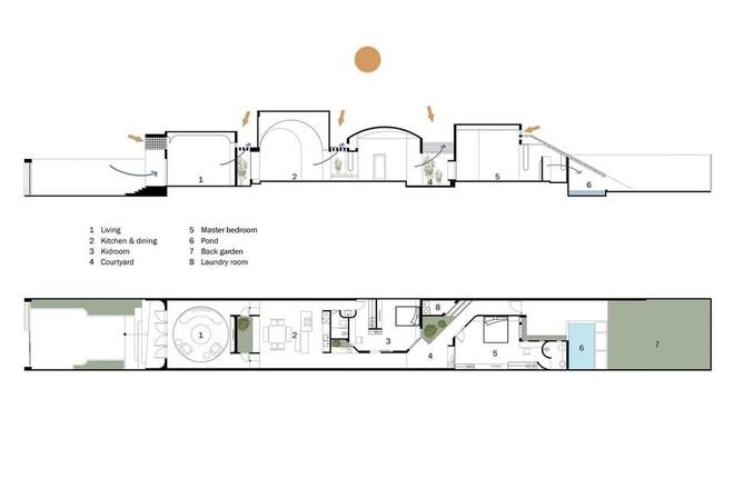 Lạ lẫm với căn nhà dài, hẹp với 3 giếng trời tại Sóc Trăng - Ảnh 25.