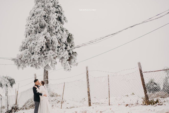 Thành quả của cặp đôi Hà Nội chụp ảnh cưới giữa mưa tuyết ở Y Tý: Sự tình cờ đầy may mắn - Ảnh 6.
