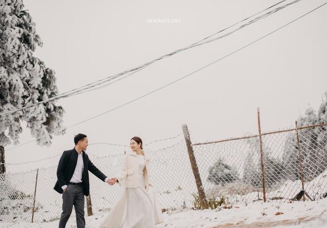 Thành quả của cặp đôi Hà Nội chụp ảnh cưới giữa mưa tuyết ở Y Tý: Sự tình cờ đầy may mắn - Ảnh 7.