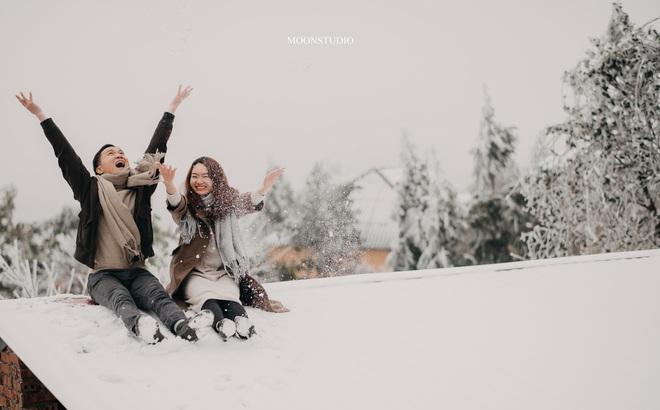 Thành quả của cặp đôi Hà Nội chụp ảnh cưới giữa mưa tuyết ở Y Tý: Sự tình cờ đầy may mắn - Ảnh 5.