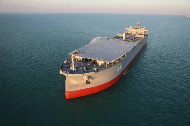 Soi lô tàu mới của HQ Iran: Đòn hiểm đánh vào mưu đồ bẻ từng chiếc đũa của Mỹ? - Ảnh 1.