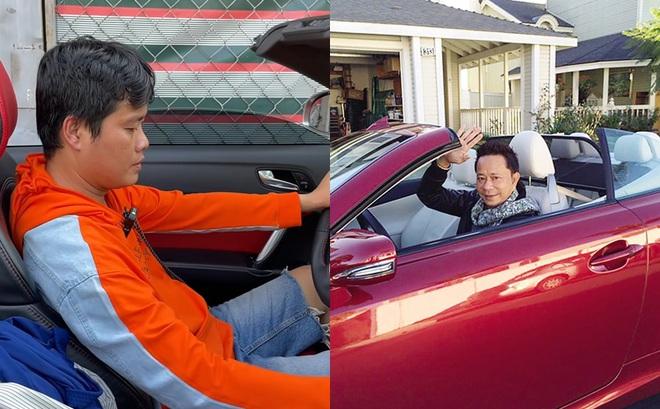 PGĐ Điền Quân Khương Dừa lái thử siêu xe gần 10 tỷ của danh hài Bảo Chung, gặp luôn sự cố