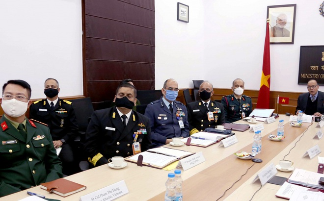 Việt Nam - Ấn Độ cam kết nâng cao hợp tác quân sự - quốc phòng