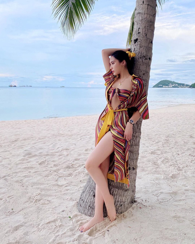 Ảnh nóng bỏng, khó rời mắt của Hoa hậu Kỳ Duyên - Ảnh 4.