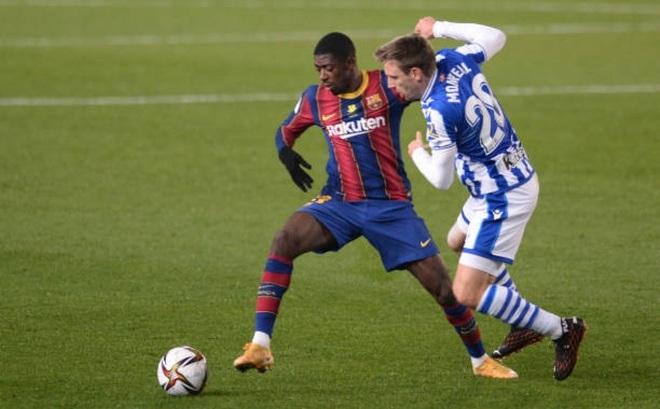 Không Messi, Barca vất vả tiến vào chung kết Siêu Cúp Tây Ban Nha