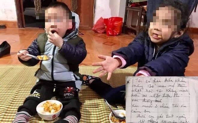 """Vụ hai bé bị bỏ rơi ở Hà Nội cùng thư """"bố mẹ chết rồi"""": Người bác vẫn muốn cho các cháu làm con nuôi"""