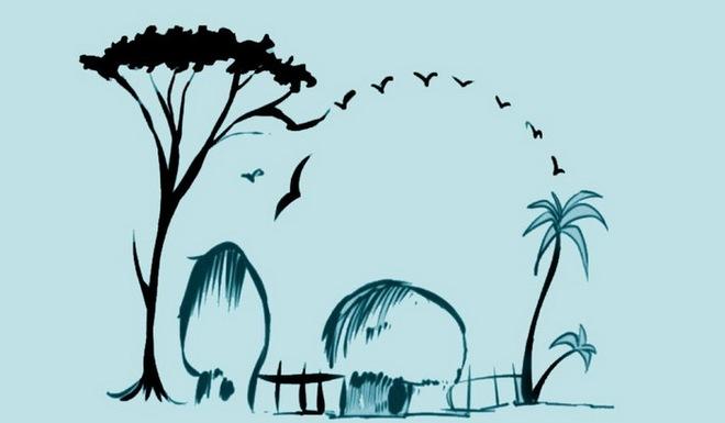Người đang hạnh phúc sẽ nhìn thấy ngôi làng hay con voi trước tiên? - Ảnh 1.