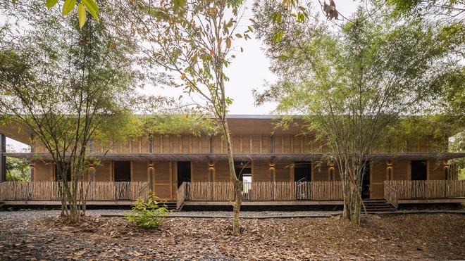 Ngôi nhà mái bằng trấu, vách vôi ở Đồng Nai nổi bật trên báo ngoại - Ảnh 1.