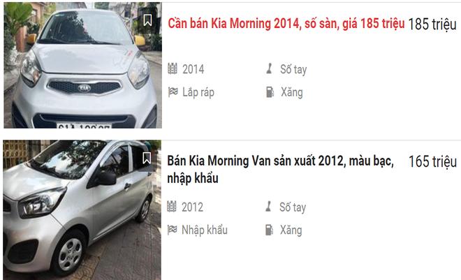 Kia Morning bán rẻ cuối năm lấy xe chạy Tết, có chiếc rẻ ngang Honda SH giá 135 triệu đồng - Ảnh 2.