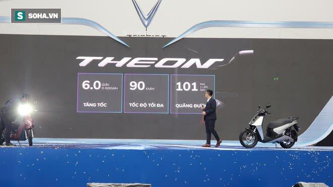 Ảnh hot xe máy điện Vinfast Theon: cùng kích cỡ Honda SH, tốc độ tối đa 90km/h - Ảnh 13.