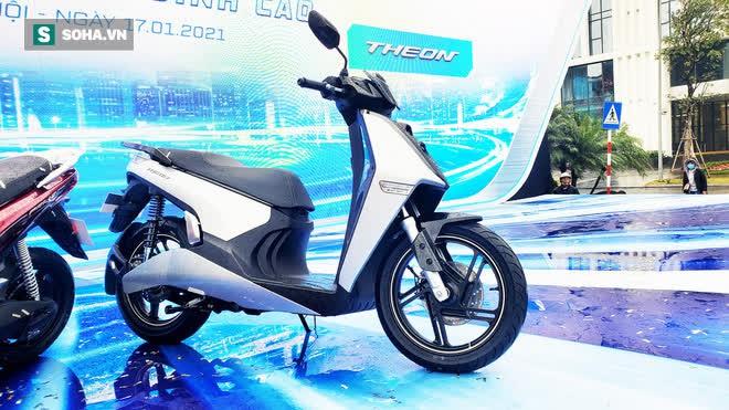 Ảnh hot xe máy điện Vinfast Theon: cùng kích cỡ Honda SH, tốc độ tối đa 90km/h - Ảnh 3.