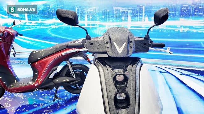 Ảnh hot xe máy điện Vinfast Theon: cùng kích cỡ Honda SH, tốc độ tối đa 90km/h - Ảnh 5.