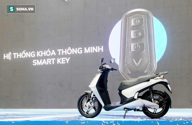 Ảnh hot xe máy điện Vinfast Theon: cùng kích cỡ Honda SH, tốc độ tối đa 90km/h - Ảnh 9.